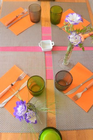 A Table : un peu de soleil...