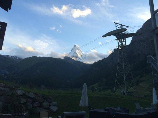Hotel Matterhorn Focus: Vue de la terrasse