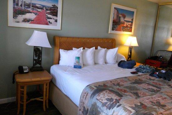 Seaway Inn: king bed