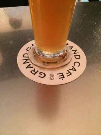 Grand Cafe: The Beer