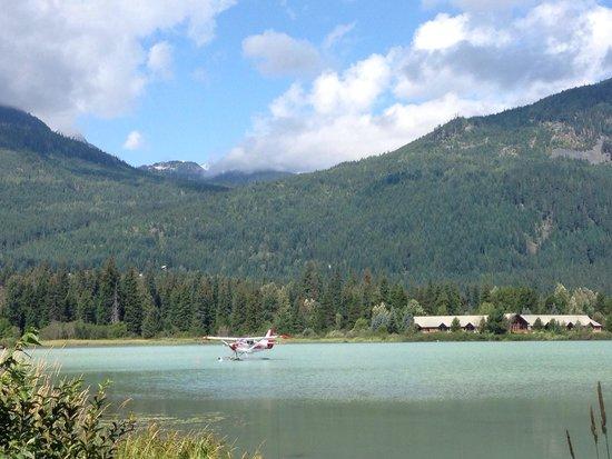Lost Lake: Green lake