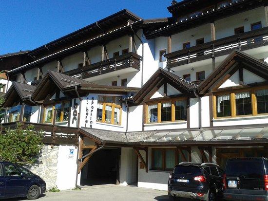 Hotel Sporting: Esterno