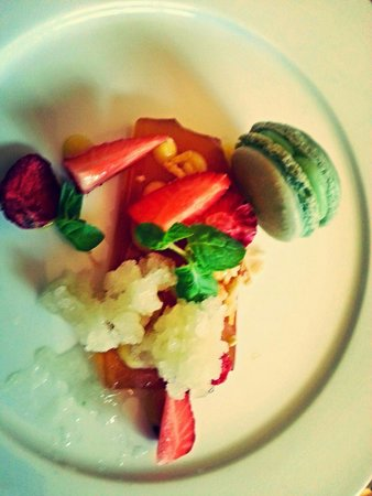 The Restaurant at St Paul's: Deconstructed Pimm's