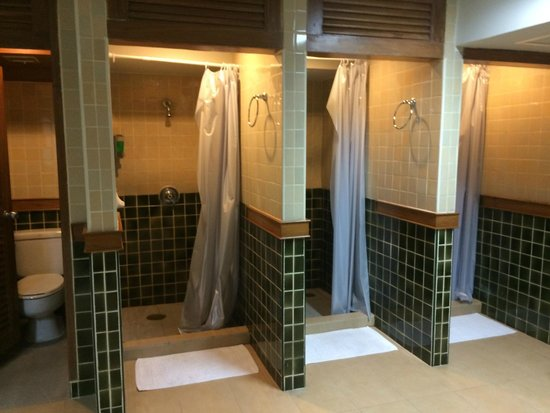 shower / changing room for sports facilities - Picture of Outrigger ...
