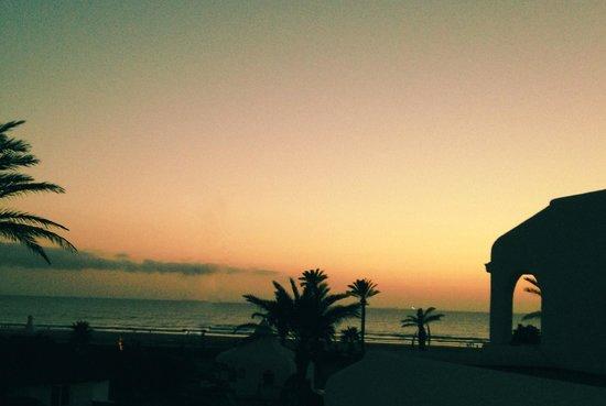 ClubHotel Riu Tikida Dunas : sunset