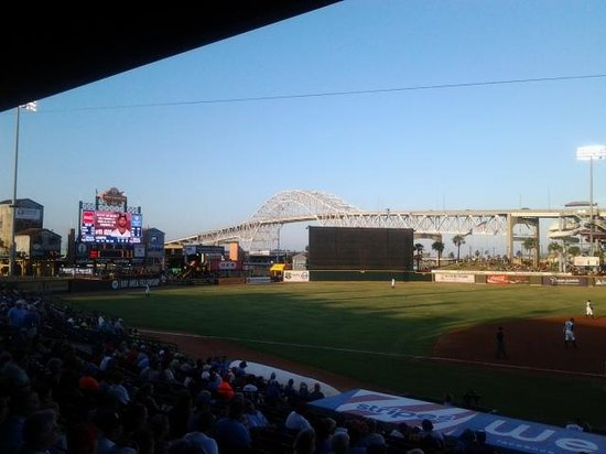 Whataburger Field: View from Third Base side