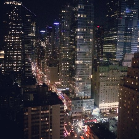 InterContinental New York Times Square: Night view