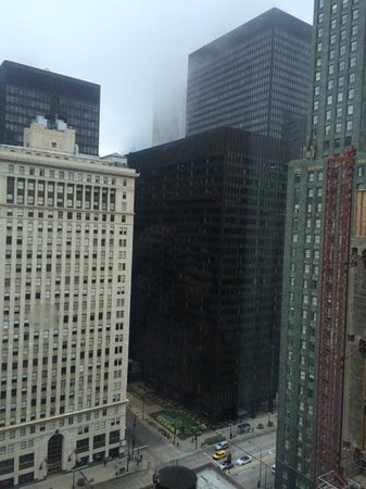 Wyndham Grand Chicago Riverfront: view from 26th floor, non river view