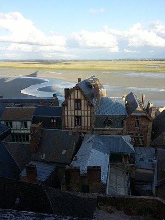 Les Terrasses Poulard: Vue merveilleuse et tellement apaisante