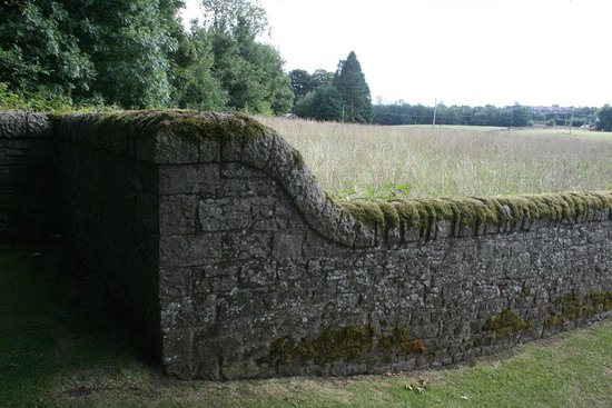 Wall at Huntingtower Castle