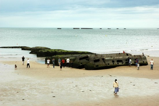Omaha Beach: Remnants of 'Mulberry'