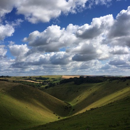 Devil's Dyke: Amazing view on a summers day