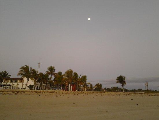 Hotel La Laguna Galapagos: the beach