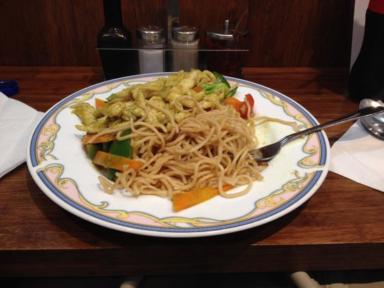 Yu Family Kitchen: Noodles al pollo e curry