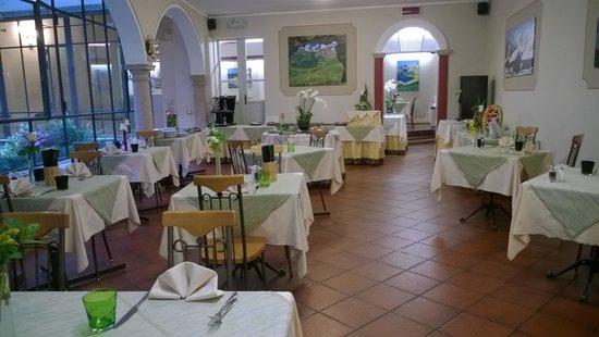 Hotel Pesce d'Oro: sala ristorante