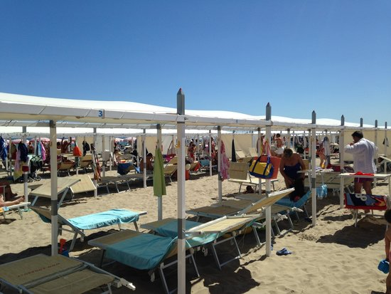 Spiaggia 60 Riccione: piscina