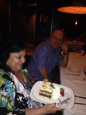 Andiamo Italian Steakhouse: Just a wonderful time!! Can't wait to go again.