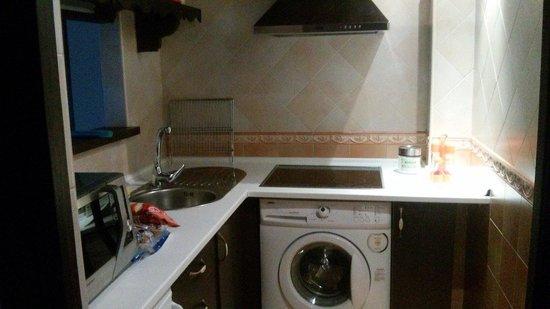 Apartamentos El Mirador Del Soto: Cocina