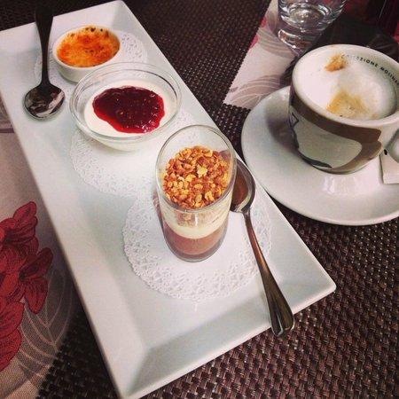 Lorenzo & Kakalamba: коллекция десертов. Очень удачная идея! попробовать сразу несколько маленькими порциями.