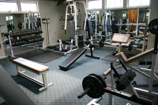 Refuge Inn: Fitness room