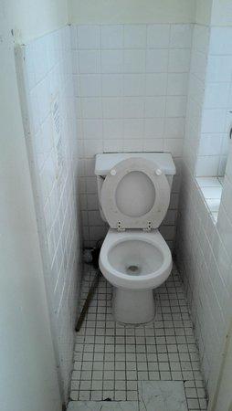 Bowery's Whitehouse Hotel: Toilettes