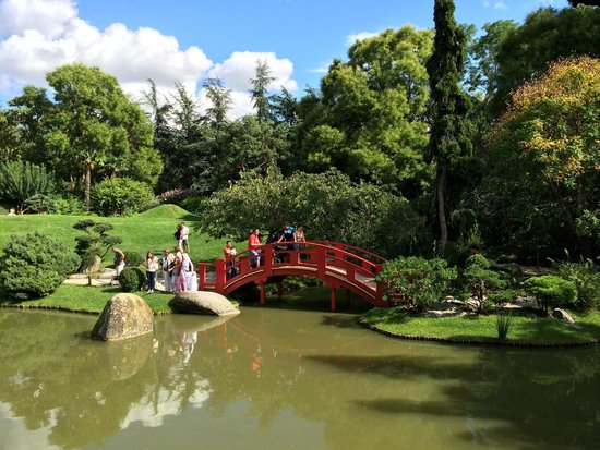 Jardin Japonais : Vue de la maison japonaise
