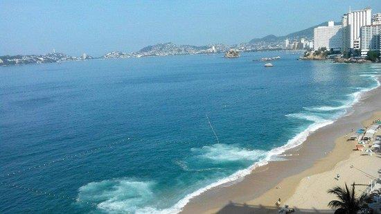 Copacabana Beach Hotel: Vista desde el noveno piso