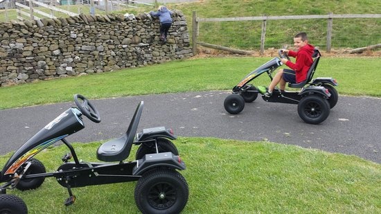 Kendal, UK: Go karts