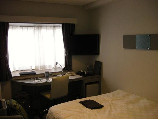Shinagawa Prince Hotel Tokyo: Room in N Tower- desk and bay window