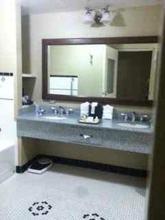Carnegie Hotel : LOVE the bathroom.