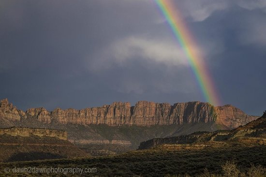Cable Mountain Lodge : Zion Rainbow