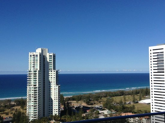 Meriton Suites Broadbeach: Never got sick of the view