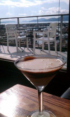 Reluctant Fisherman Inn: Great Chocolate Martini