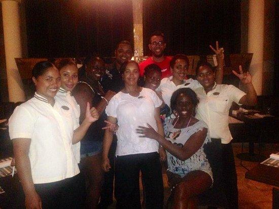 Paradisus Punta Cana: NAOS' EXCEPTIONAL EMPLOYEES