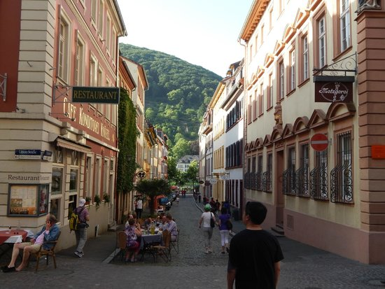 Altstadt (Old Town): Narrow lanes and restaurants