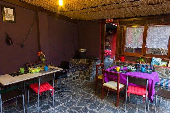 B&B La Laguna: salon comedor