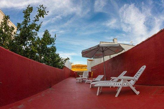 B&B La Laguna: la terraza