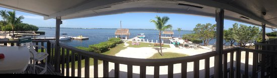 Parmer's Resort : View from our balcony named Porpoise room