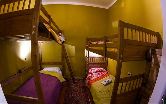 B&B La Laguna: mustard room