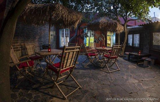 B&B La Laguna: el patio