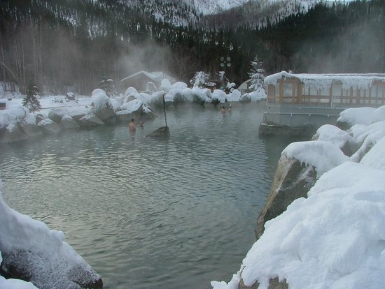 Chena Hot Springs Resort: Outdoor Hot Springs