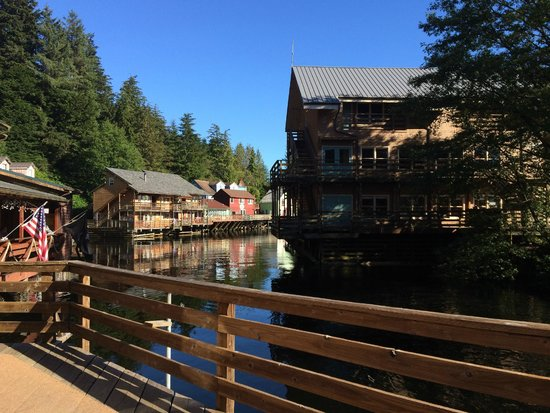 Cape Fox Lodge: All of Ketchikan's beauty at the base of the funicular!
