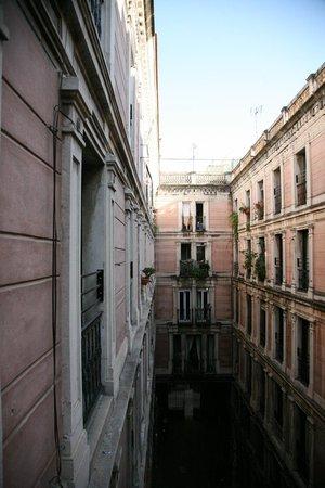 Hotel Rialto: Вид из номера
