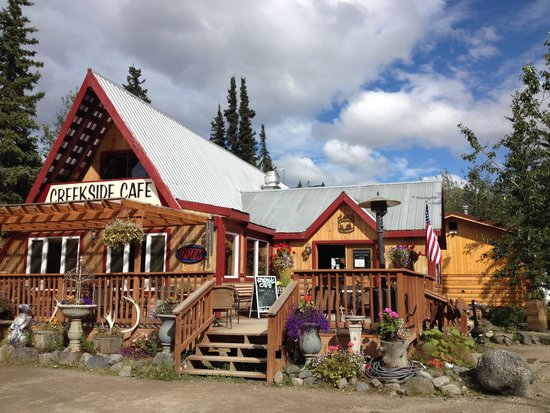 McKinley Creekside Cabins: The Cafe