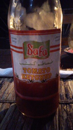 Mbuyuni Beach Village: Bad Ketchup!