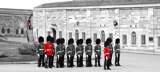 La Citadelle de Québec : Beginning of the guard-changing