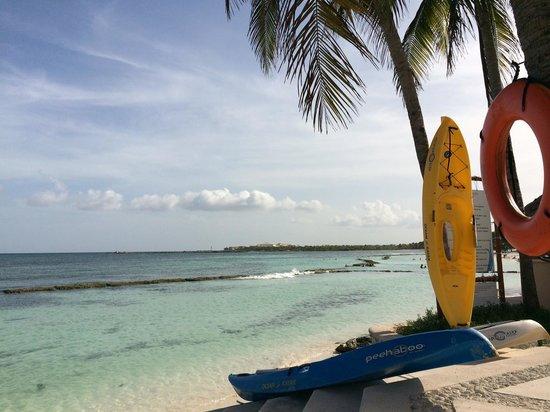 Omni Puerto Aventuras Beach Resort: Excelente vista al mar