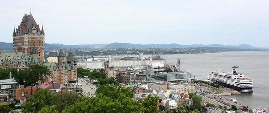La Citadelle de Québec : View from the fort