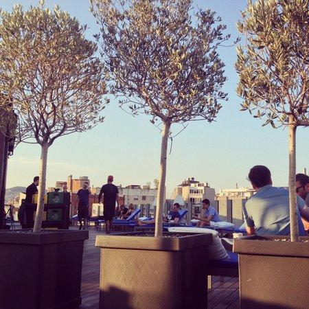 Axel Hotel Barcelona & Urban Spa: Roof top