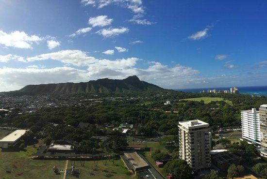 Aston Waikiki Sunset: View of Diamond Head